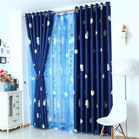 blue white drapes light blue and white curtains