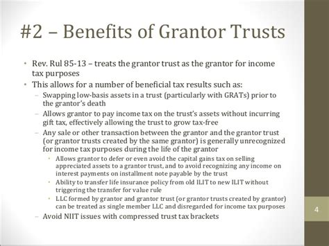 intentionally defective grantor trust diagram top 10 income tax tenets for estate planners