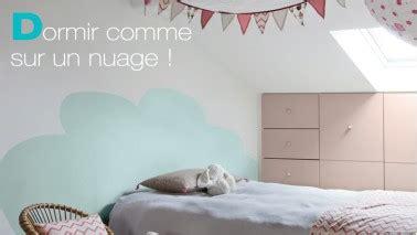 Tete De Lit Nuage by T 234 Te De Lit 224 Peindre Pour R 234 Ver Dans Un Nuage D 233 Co Cool