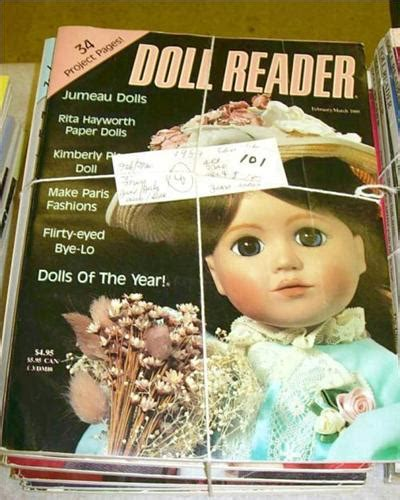 doll reader magazines doll reader magazines 1989 8 issues complet