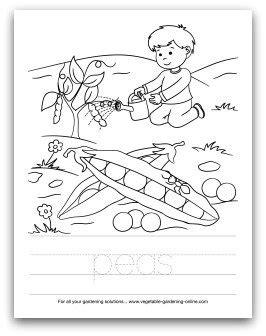 garden coloring pages for preschool preschool art activities and printable learning activities