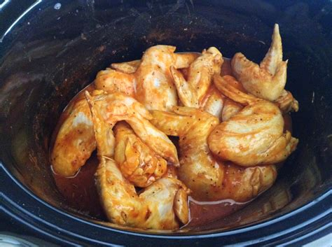 easy crock pot buffalo wings slow cooker chicken recipe