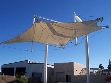 Fabric Canopy Nuys Airport Nuys Ca Tensionstructures