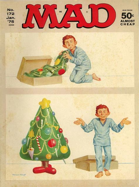 mad christmas tree mad magazine covers pinterest