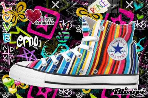 colorful converse colorful converse picture 108300072 blingee