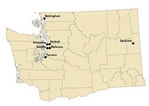 Of Washington Washington Cities Data
