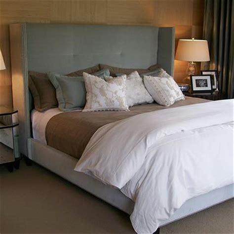 taupe bedroom contemporary bedroom ashley goforth design velvet tufted headboard contemporary bedroom ashley