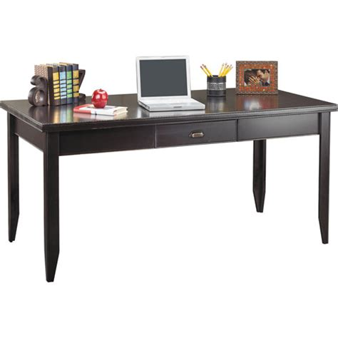 midtown oversized writing desk finishes