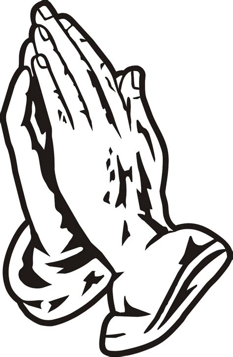 praying hands tattoo clipart clipart best