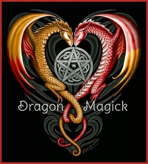 magick dragon tattoo magick things i magick and