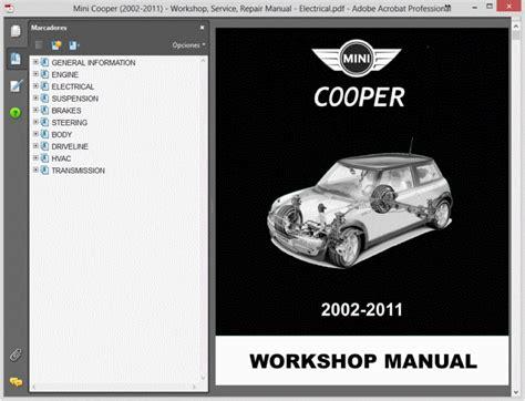 online service manuals 2003 mini cooper on board diagnostic system service manual haynes repair manual mini cooper 2002 2011 ecs news mini cooper cooper s jcw