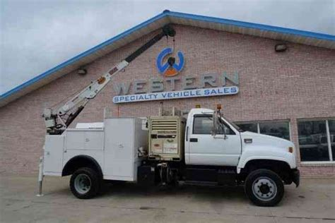 crain gmc gmc crane truck 2002 utility service trucks