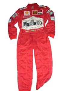 F1 Suit F1 Autographs Memorabilia