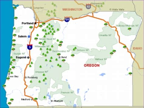 map of oregon cgrounds map of oregon cgrounds pictures to pin on