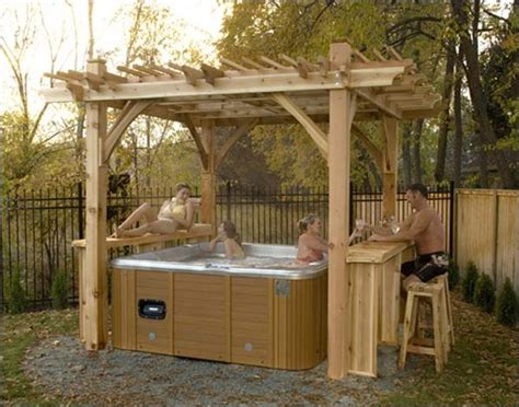 spa pergola ideas 160 best images about outdoor ideas on