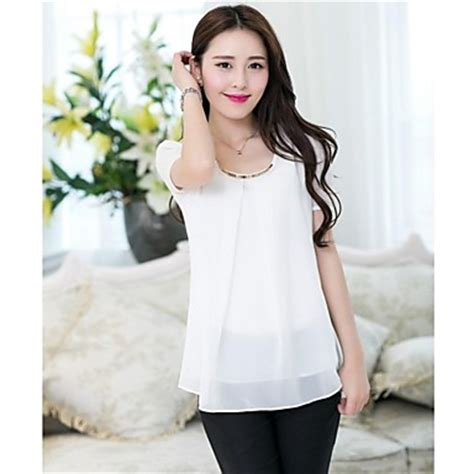 Hv Baju Putih Didita Pakaian Atasan Wanita jual atasan baju pakaian blouse model korea wanita korean