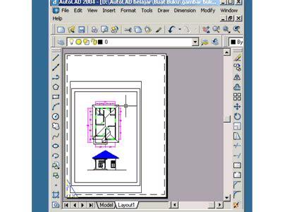 layout garis adalah tips print gambar autocad2010 pada layout aderiko blog