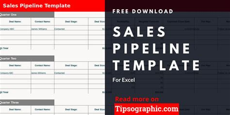 Sales Pipeline Template For Excel Free Download Tipsographic Excel Crm Template Format