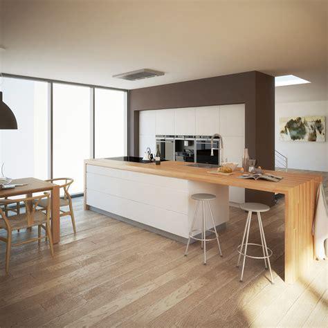realistic modern kitchen interior model