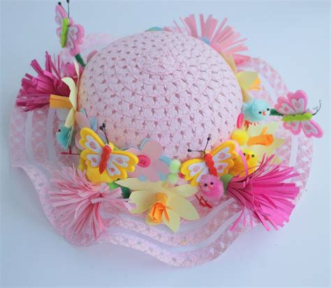 How To Make A Paper Easter Bonnet - 17 best ideas about easter bonnets on easter