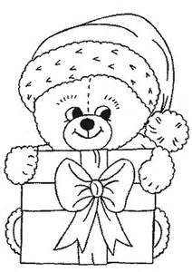 dibujos para colorear de animales de navidad plantillas