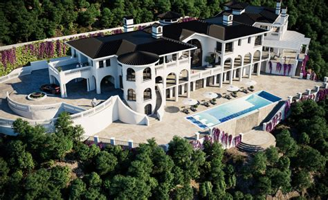 bel air mansion 75 million newly built 40 000 square foot mega mansion in