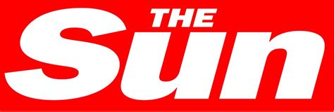 news logo template the sun newspaper logo