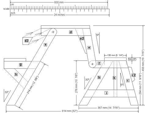 folding picnic table bench plans folding picnic table front elevation plan epr