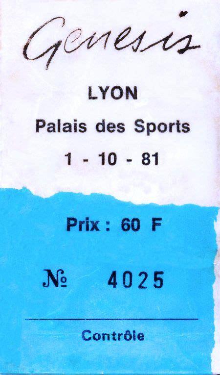 genesis tickets genesis ticket palais des sports lyon 1st october