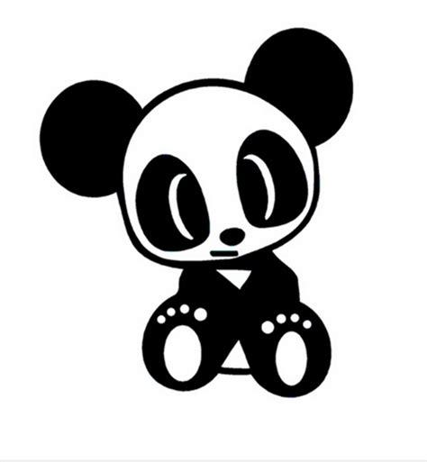 jdm panda sticker jdm team panda decal sticker reflective vinyl sticker top