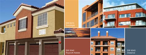 rustic sun multi family color collection sherwin williams