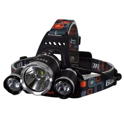 Headl Flashlight Waterproof White Led keku led high power headl rechargeable waterproof flashlight l with 3 ebay