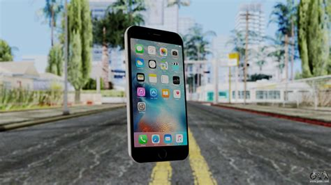 iphone 6s space grey for gta san andreas