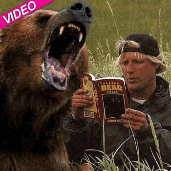 Timothy Treadwell Recording Audio Of Grizzley Black Pics