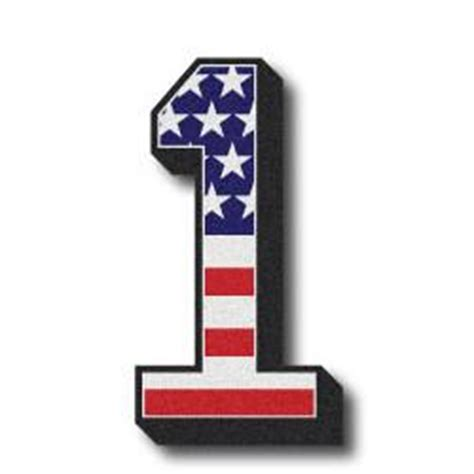 Wall Letter Stickers american flag numbers amp letters the bravest decals