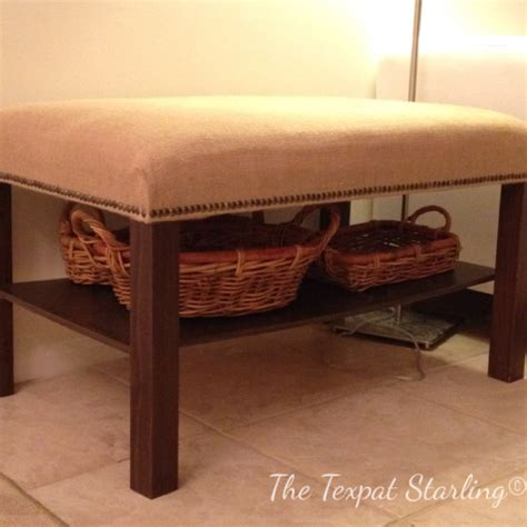 coffee table bench diy lack coffee table made into bench diy furniture pinterest