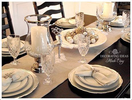 Table Runner Instead Of A Full Cloth And Adding A Few Dining Room Table Setting Dishes