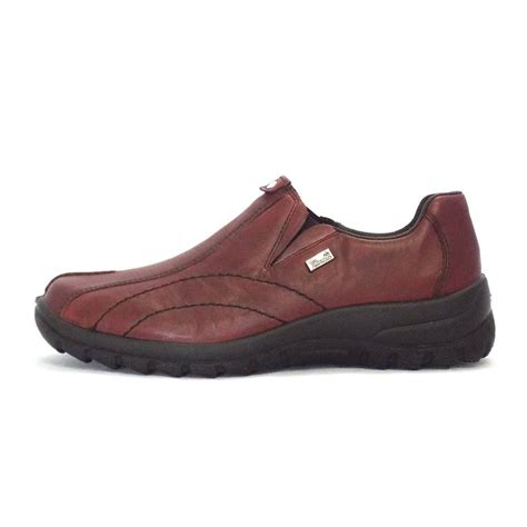 casual shoes rieker cristallin womens casual shoe in leather