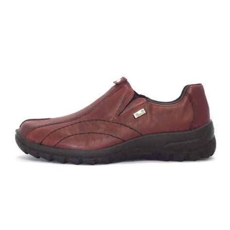 rieker cristallin womens casual shoe in leather