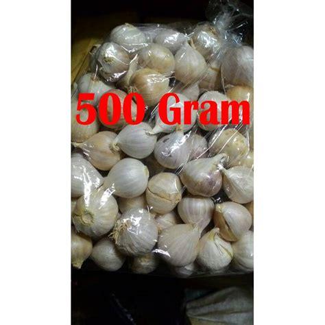 500 Gram Bawang Putih bawang putih lanang tunggal 500 gram asli lokal shopee
