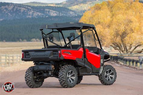 test ride 2016 honda pioneer 1000 utvunderground