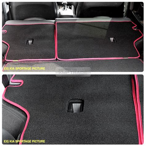 Kia Rondo Seat Covers Anti Scratch Back Seat Cover Trunk Cargo Floor Mat For Kia