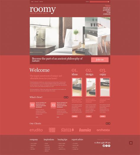 wordpress themes free uk interior design responsive wordpress theme free