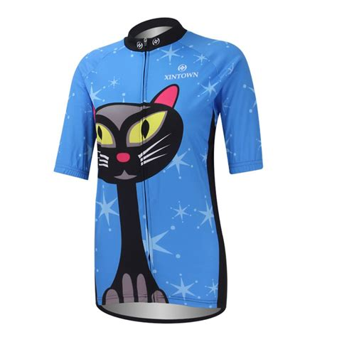 cool cycling jackets cool sport jerseys breathable clothing cycling women blue