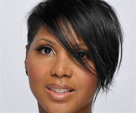 tony braxton hairstyles toni braxton short hair striking celebrity hairstyles