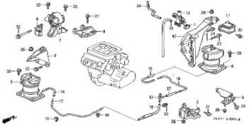honda store 1998 accord engine mount v6 parts