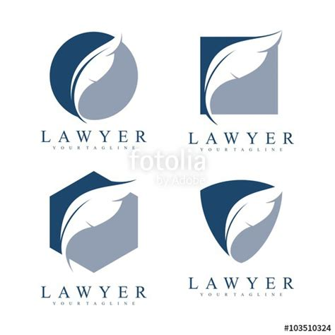 lawyer logo vector free quot feather logo lawyer logo simple design vector logo template quot stock image and royalty free