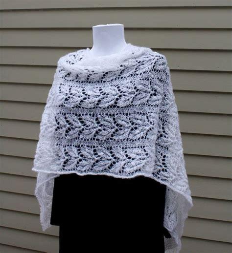 leaf pattern shawl knitting all knitted lace february entry estonian shawl challenge
