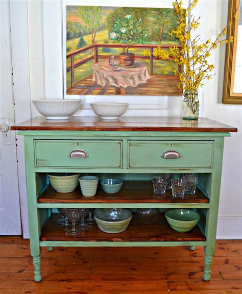 antique island for kitchen heir and space antique dresser turned kitchen island