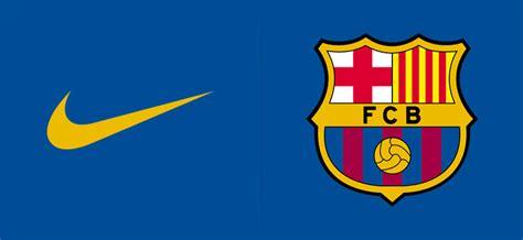 barcelona nike fc barcelona sign biggest ever kit deal footy headlines